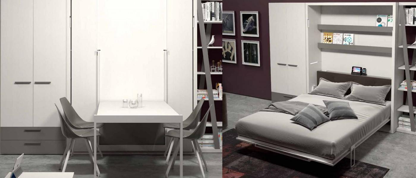 Clever - Arredamento salvaspazio mobili multifunzionali ...