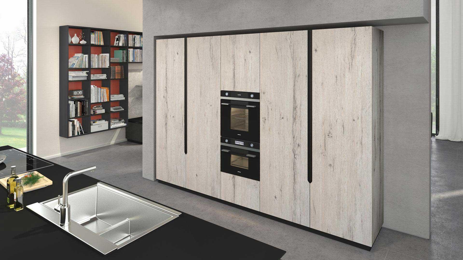 Lube Cucina OLTRE Design Materico Www.olimparredamenti.it #714438 1920 1080 Programma Per Progettare Cucina Lube