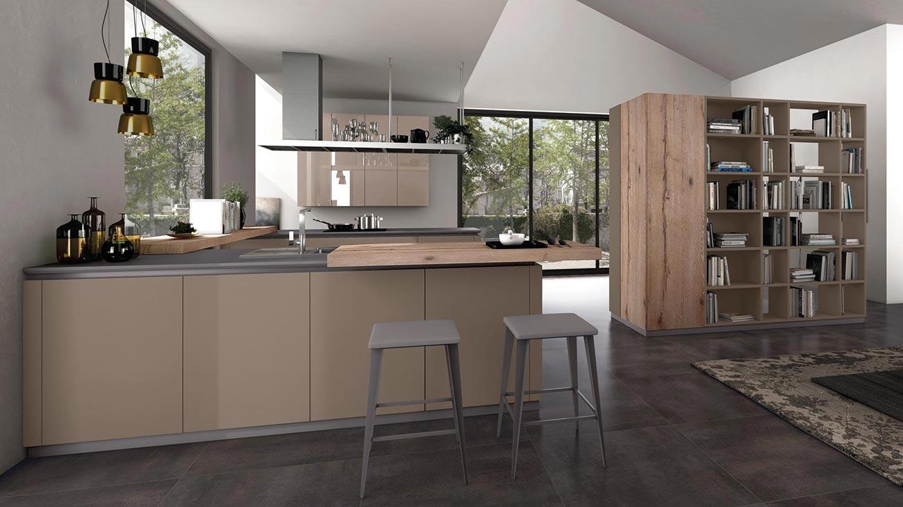 Piano Cucina Nero : Lube cucina oltre design materico olimparredamenti